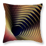 The Road To The Other Side Throw Pillow