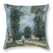 The Road To Versailles Throw Pillow