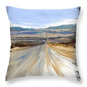 The Road Trip Throw Pillow