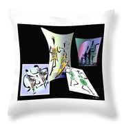 The Rockers Throw Pillow