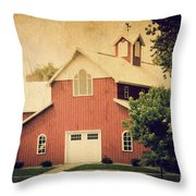 The Rocket Barn Throw Pillow