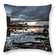 The Roebling Gotham Style Throw Pillow