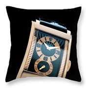 the Rolex Prince, eve rose gold.  Throw Pillow
