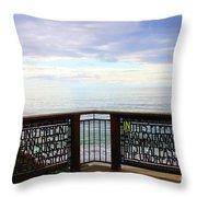 The Romance Of Laguna Beach Throw Pillow