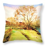 The Rookery By V.kelly Throw Pillow