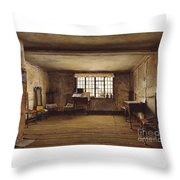 The Room In Which Shakespeare Was Born Throw Pillow