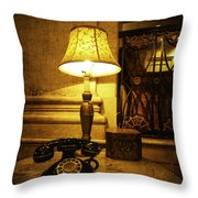 The Roosevelt Hotel Throw Pillow
