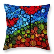The Roots Of Love Run Deep Throw Pillow by Sharon Cummings