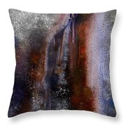 The Roots Of Nature Throw Pillow by Mark Taylor