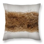 The Roots Of This Indian Grass Reached Throw Pillow by Jim Richardson