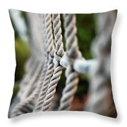 The Rope's Throw Pillow