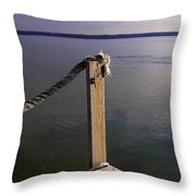The Ropewalk Throw Pillow