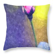 The Rose Bud Throw Pillow
