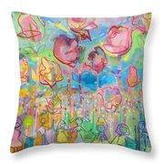 The Rose Garden, Love Wins Throw Pillow