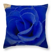 The Rose Of Sadness Throw Pillow
