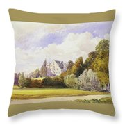 The Rosenau From The South-east Throw Pillow