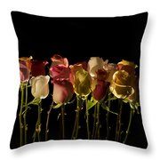 The Rose's Forest Throw Pillow
