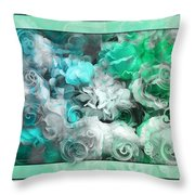The Roses Of Josephine  Throw Pillow