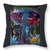 The Rouge Throw Pillow