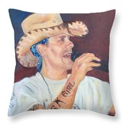 The Rowdy One Throw Pillow