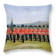 The Royal Fusiliers Throw Pillow