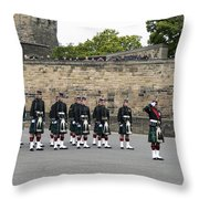 The Royal Regiment Of Scotland Throw Pillow