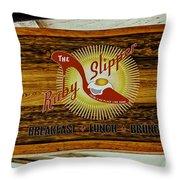 The Ruby Slipper Throw Pillow