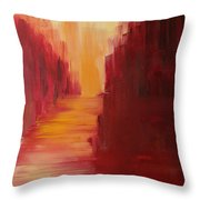 The Ruby Way Throw Pillow
