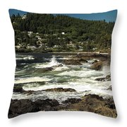 The Rugged Beauty Of The Oregon Coast - 1 Throw Pillow