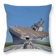 The Runway Throw Pillow by Scott Listfield