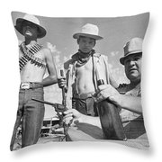 The Rural Family Throw Pillow