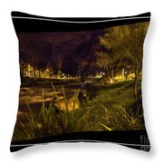 The Rushing Rio Tomebamba Iv Throw Pillow
