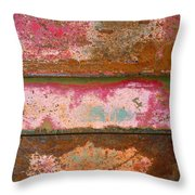 The Rusty Truck Throw Pillow