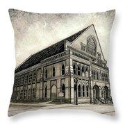 The Ryman Throw Pillow