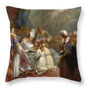 The Sacrament Of Confirmation Throw Pillow