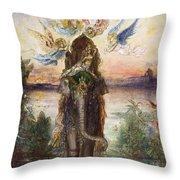 The Sacred Elephant 1882 Throw Pillow