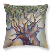 The Sacred Tree Throw Pillow
