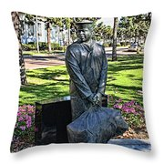 The Sailor Throw Pillow