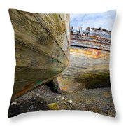 The Salen Wrecks Throw Pillow