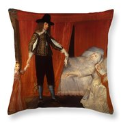 The Saltonstall Family Throw Pillow