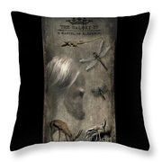 The Saluki Is A Marvel Of Elegance Throw Pillow