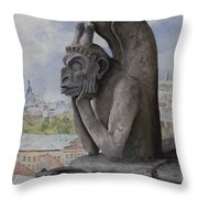 The Same Old Thing Throw Pillow
