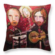The Samples Painted Live Throw Pillow