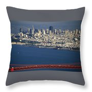 The San Francisco Zoo Throw Pillow