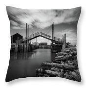 The Sandford Drawbridge Throw Pillow