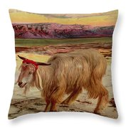 The Scapegoat Throw Pillow