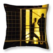 The Scene San Antonio Throw Pillow