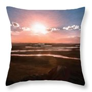 The Scenery - Id 16235-142805-2743 Throw Pillow