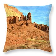 The Scenic Drive II Throw Pillow