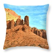 The Scenic Drive Throw Pillow